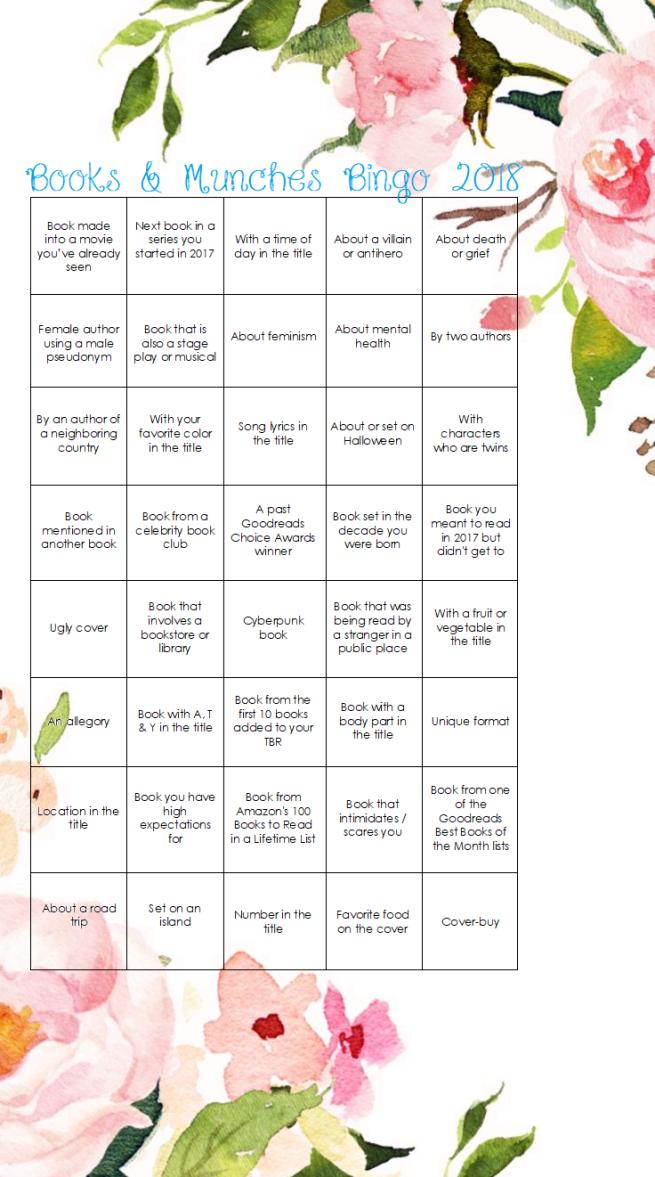 2018 bingo